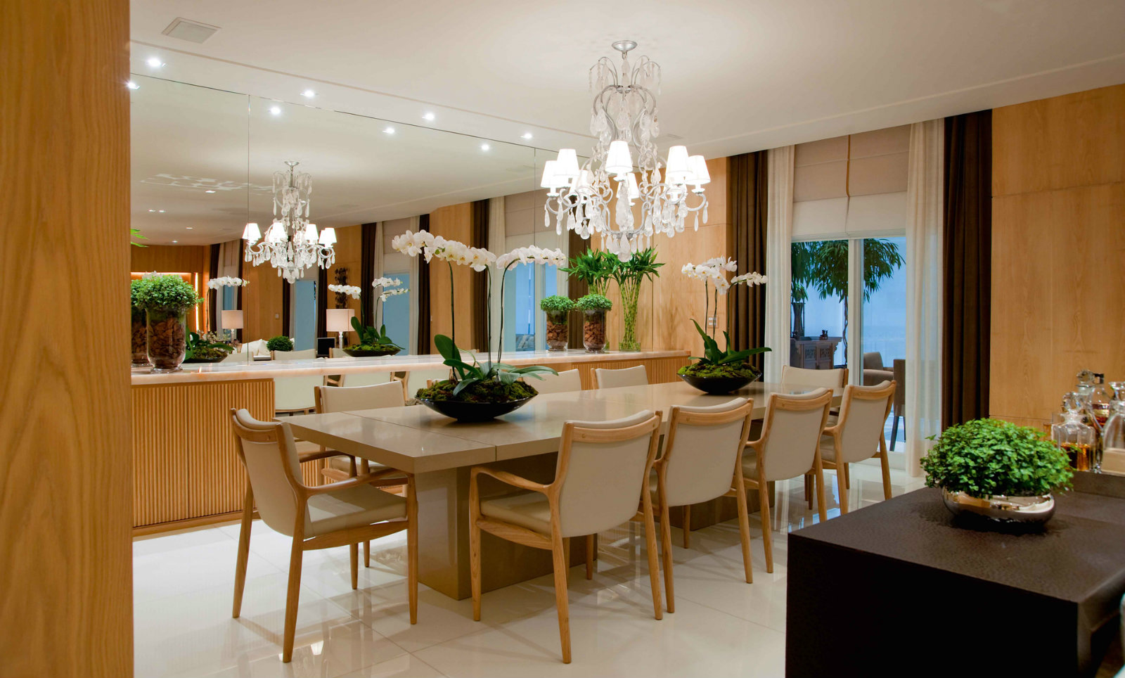 Como Decorar Buffet Sala De Jantar ~ Dicas para decorar a Sala de Jantar