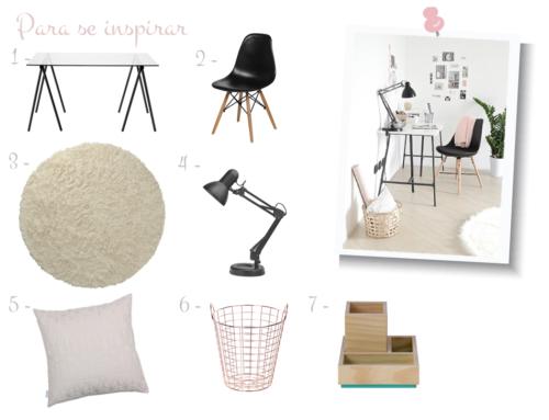 Para se inspirar: lindo e moderno Home Office