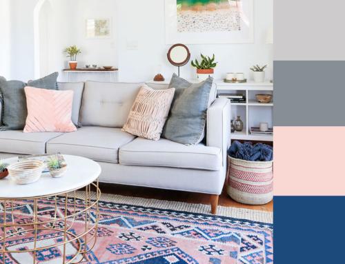 Paleta de Cores: uma linda Sala de Estar