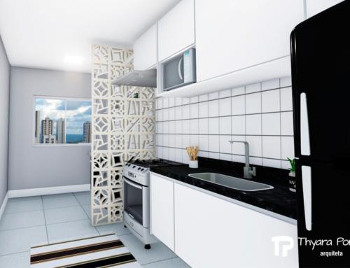 Cozinha (Preto e Branco)